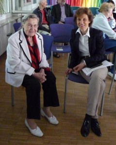 Finissage mit Prof. Dr. Ursula Lehr, Dr. Franziska Polanski