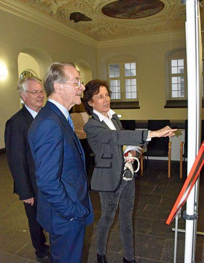 Vorsitzender der BAGSO Bundesarbeitsminister-a.D.-Franz-Müntefering, Prof. H.G.Borck, Dr.-F.Polanski. Foto: Stadt-Koblenz